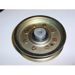 Poulie métal gorge plate D.101MM