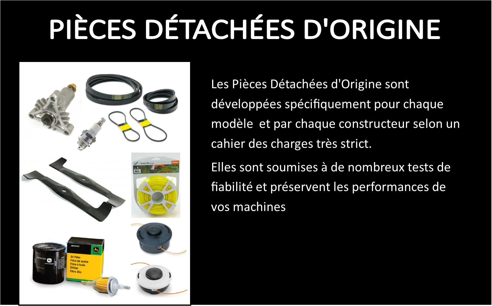 PIECES DETACHEES ORIGINE