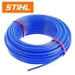 Fil nylon rond bleu STIHL 1.6mm - 20m