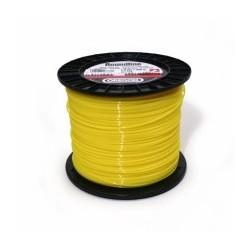 Fil nylon rond Stihl jaune Dia. 3mm - Long. 162 mètres