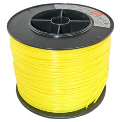 Fil nylon rond jaune STILH 3 mm - 280m