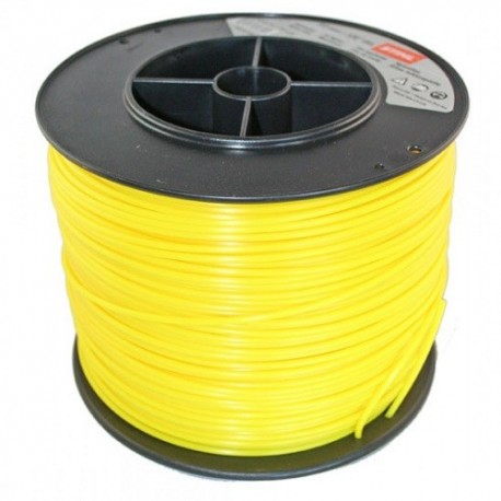 Fil carré jaune nylon STIHL 3mm - 280m