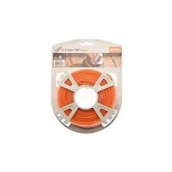 Fil silencieux nylon orange STIHL 2.4 mm - 86m