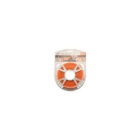 Fil silencieux nylon orange STIHL 2.4 mm - 86m