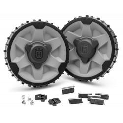 kit roues pour terrain pentu - accidenté robot Automower Husqvarna 420 430X 440 450X