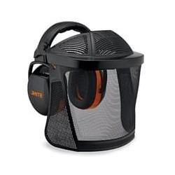Visière intégrale longue avec grille en nylon et protège-oreillesSTIHL
