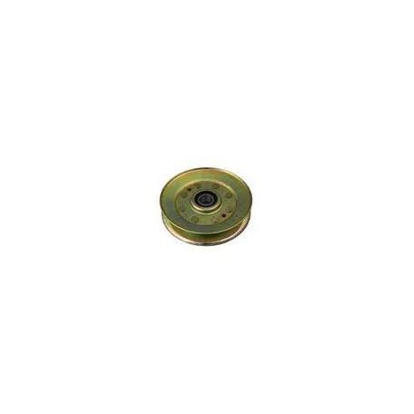Poulie métal gorge trapezoïdale D. 127mm