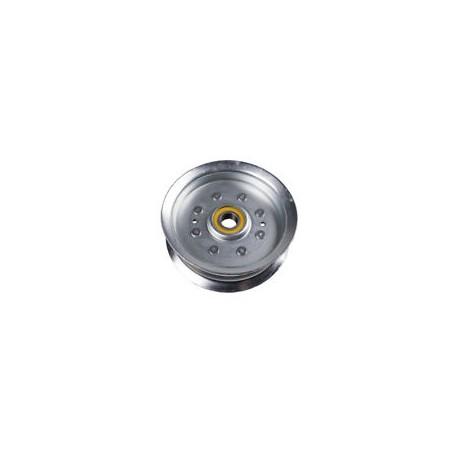 Poulie métal gorge plate