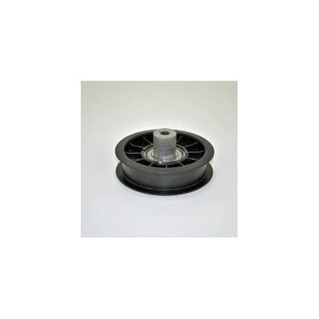 Poulie plastique gorge plate D.88mm