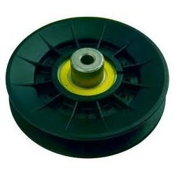 Poulie plast. gorge trapezoïdale D.101mm origine John Deere X300 X300R X320 X350