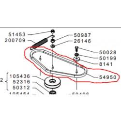 COURROIE AVANCEMENT GRILLO FD450
