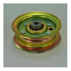 Poulie tendeur métal gorge plate D. 78mm John Deere X300 X320 X350 X540