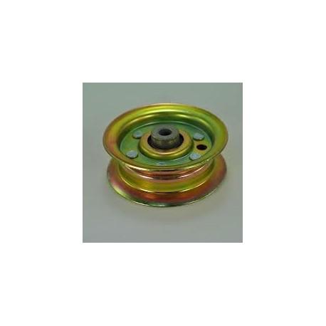 Poulie métal gorge plate D. 78mm