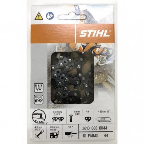 """Chaine tronconneuse Stihl 3/8""""P 1.1mm 44M 3610000044"""