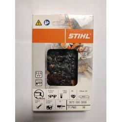 Chaine tronconneuse Stihl 1/4 -56M -1.1mm PM3 POUR GUIDE 25CM 36700000056