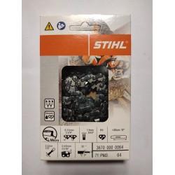 """Chaine tronconneuse Stihl 1/4""""PM3 1.1mm 36700000064"""