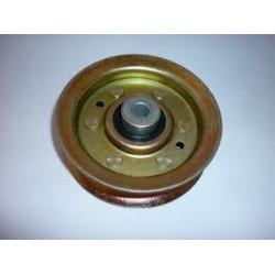 Poulie métal gorge plate Husqvarna LT14& LT131 (piéce qualité d'origine )