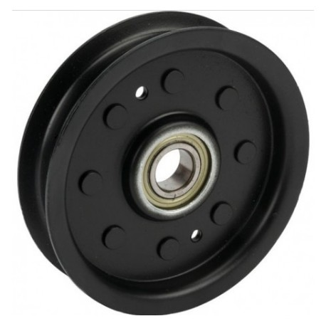 Poulie tendeur fixe métal plate Courroie lame gauche origine John Deere X130R X155R X166R