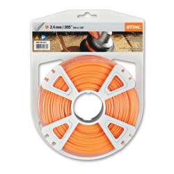 Fil penta orange STIHL 2,4mm - 97m