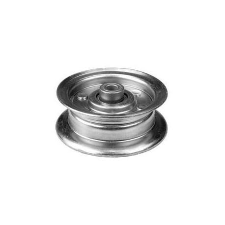 Poulie métal gorge plate HUSQVARNA LT154/ LT151/LTH171 (piéce qualité d'origine )