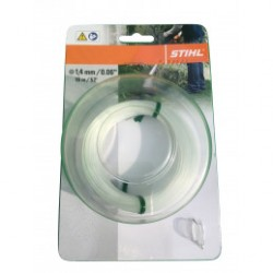 Fil nylon rond Stihl transparent Dia. 1.4mm - Long. 16 mètres