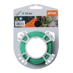 Fil nylon rond Stihl vert Dia. 2mm - Long. 14 mètres 00009302335