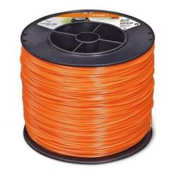 Fil nylon rond Stihl orange Dia. 2.4mm - Long. 420 mètres 00009302247