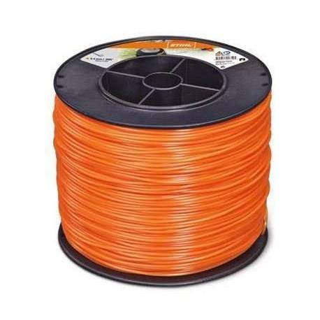 Fil nylon rond Stihl orange Dia. 2.4mm - Long. 420 mètres 00009302247