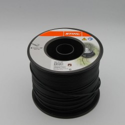 Fil nylon rond Stihl Noir Dia. 3.3 mm - Long. 137 mètres