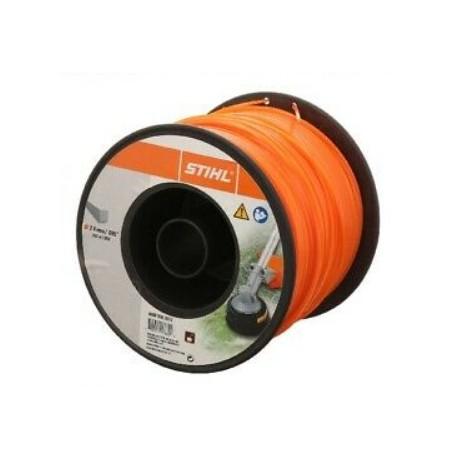Fil nylon STIHL Carré diamétre 2.4 mm Rouleau de 261métres