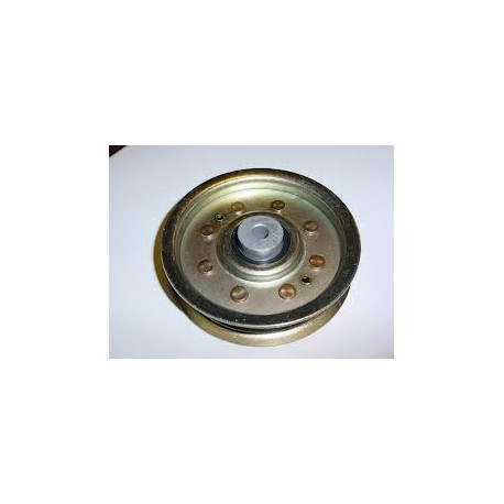 Poulie tendeur métal gorge plate D.101mm John Deere
