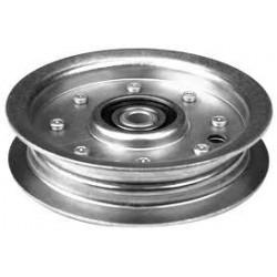 Poulie métal gorge plate HUSQVARNA LT126 LT141 LT131 CT126 (piéce qualité d'origine )