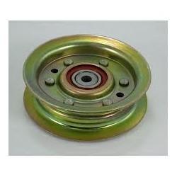 Poulie métal JOHN DEERE LT 155 LT 166 gorge plate D. 78mm
