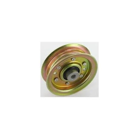 Poulie tendeur métal gorge plate