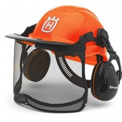"Casque HUSQVARNA ""FUNCTIONNAL""Orange"